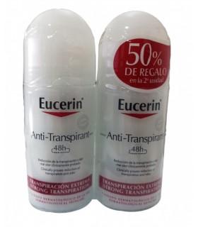 Eucerin Desodorante Roll-On Anti Transpirante 48H Duplo 2x50ml