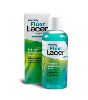 Fluor Lacer Diario 0.05% Colutorio Sabor Menta 500ml