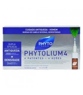 Phytolium 4 Tratamiento Anticaida Hombre 12 Ampollas