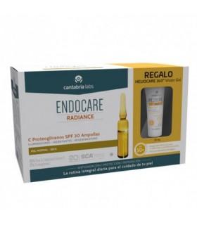 Endocare-C Proteoglicanos SPF30 30 amp+Regalo Heliocare 360 Water Gel 15ml
