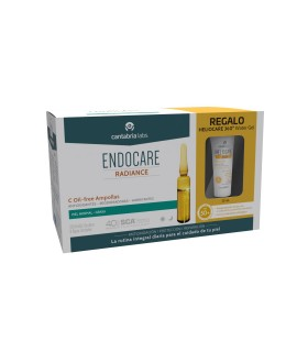 Endocare C Oil Free Ampollas 30ud+Regalo Heliocare 360 Water Gel 15ml