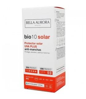 Bella Aurora Bio10 Protector Solar UVA PLUS Antimanchas Piel Mixta-Grasa SPF50 50ml