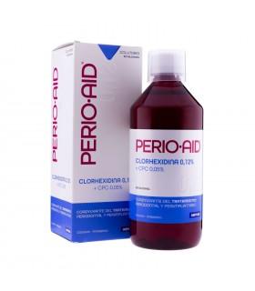 Perio Aid Colutorio Tratamiento Clorhexidina 0.12% 500ml