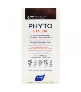 PhytoColor Tinte 6.77 Marron Claro Capuchino