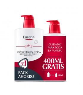 Eucerin pH5 Locion Enriquecida 1000ml + Regalo 400ml