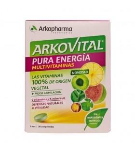 Arkovital Pura Energia Multivitaminas 30 comprimidos