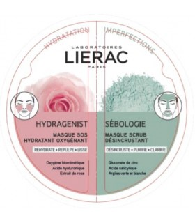 Lierac Duo Mascarilla Hydragenist-Sebologie 2x6ml