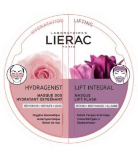 Lierac Duo Mascarilla Hydragenist-Lift Integral 2x6ml