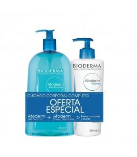 Bioderma Atoderm Pack Gel de Ducha 1000ml+Crema 500ml