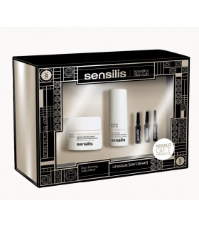 Sensilis Upgrade Pack Crema Dia 50ml+Contorno 15ml+3 Ampollas