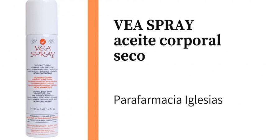 VEA SPRAY aceite corporal seco